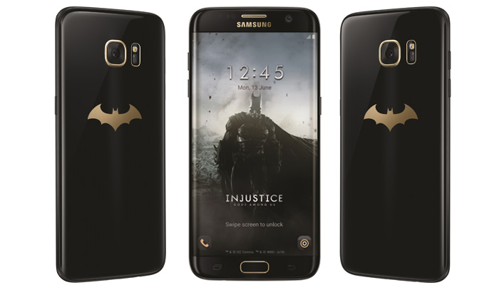 Galaxy S7 edge Injustice Edition frontal