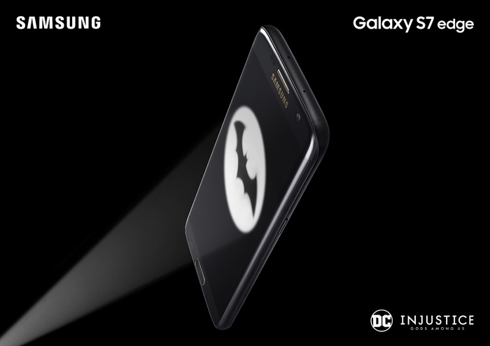 Galaxy S7 edge Injustice Edition logo