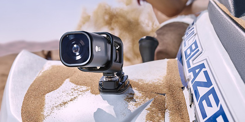 LG Action CAM LTE el rival para GoPro con YouTube LIVE