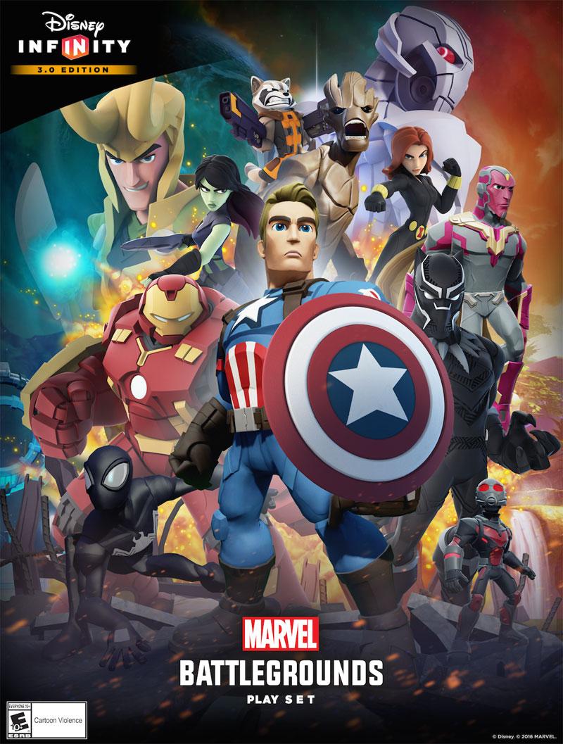 Marvel Battlegrounds Play Set Poster