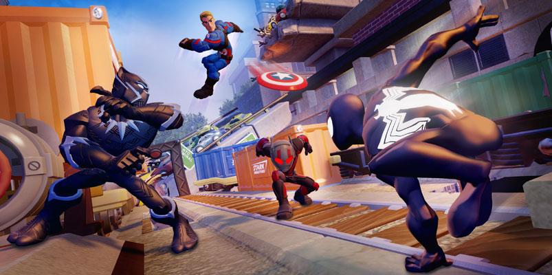 Marvel Battlegrounds llega a Disney Infinity Edición 3.0