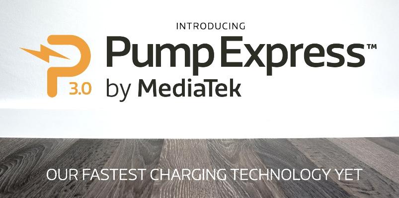 MediaTek presenta Pump Express 3.0, tecnología de carga rápida