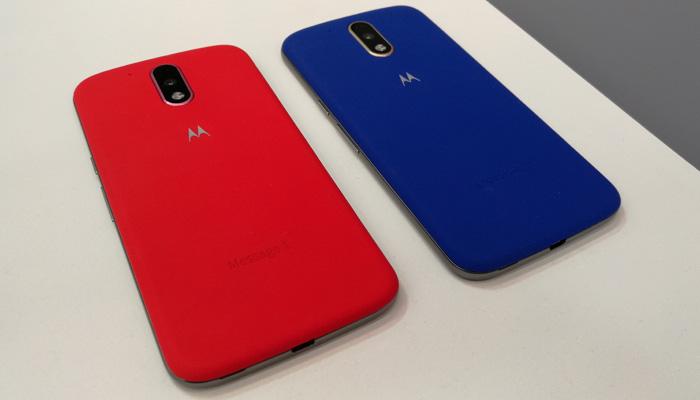 Moto G4 Plus colores
