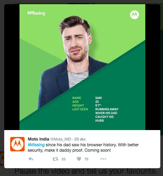 Moto #Missing seguridad