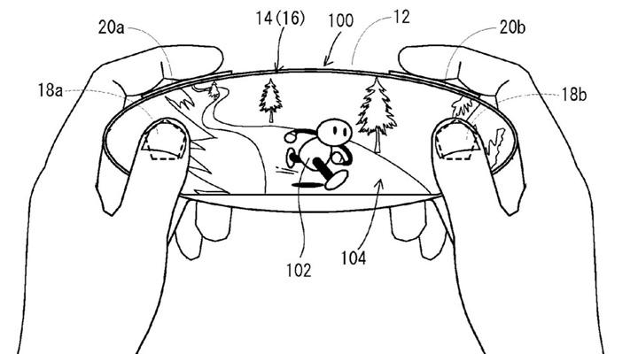 Nintendo consola NX patente