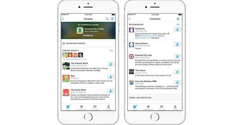 Conecta, la nueva forma para contactar personas en Twitter