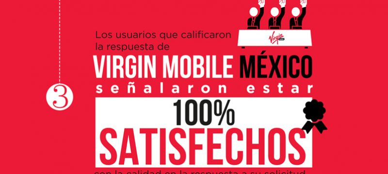 Virgin Mobile México satisfaccion