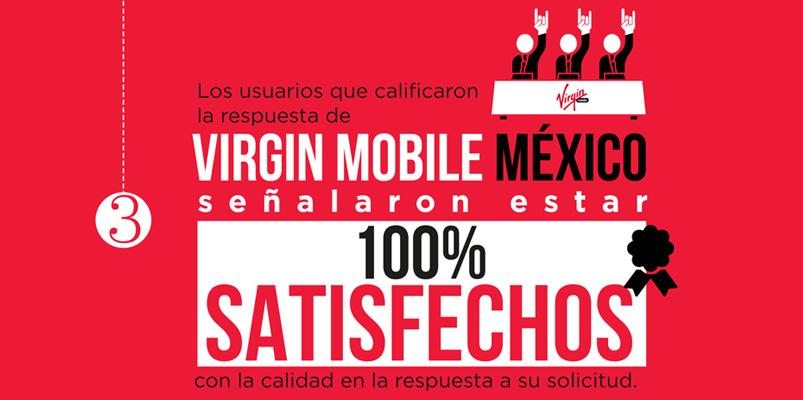 Virgin Mobile México con el mejor trato en el país