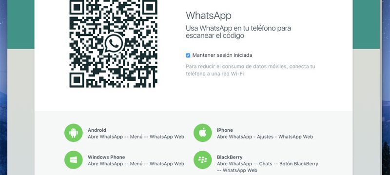 WhatsApp OS X