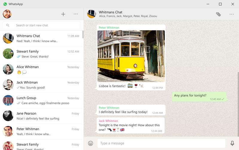 WhatsApp computadoras PC