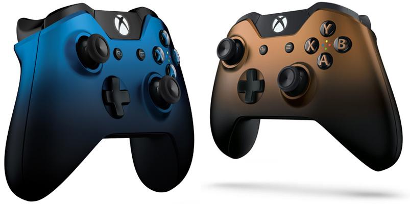 Los controles de Xbox One: Dusk Shadow y Copper Shadow