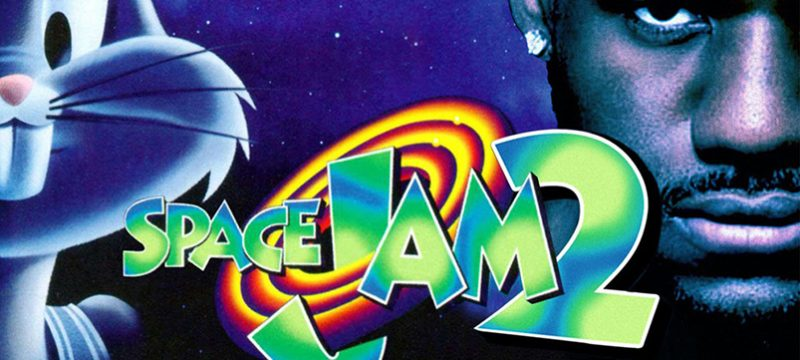space jam 2 con Lebron James