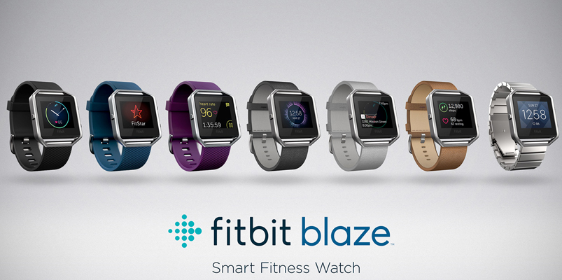 fitbit Blaze, el reloj inteligente ideal para tu papá