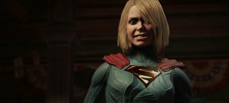Injustice 2 gameplay supergirl