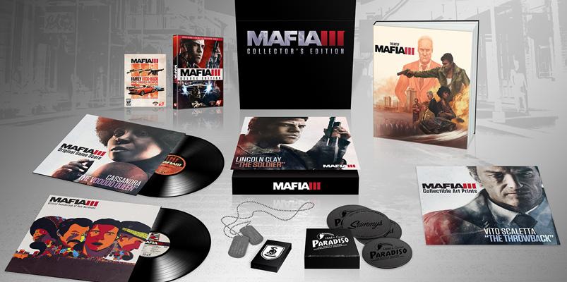 Contenido de la Edición de Colección de Mafia 3