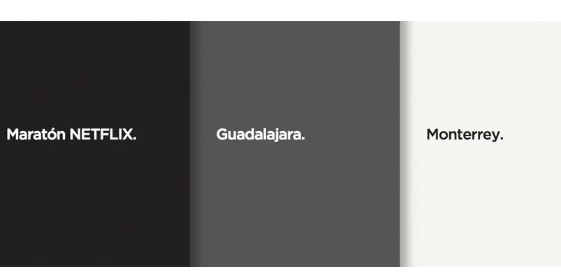 Maratón Netflix llega a Guadalajara y Monterrey