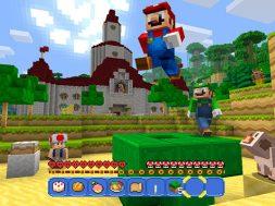 Minecraft Wii U Edition Super Mario