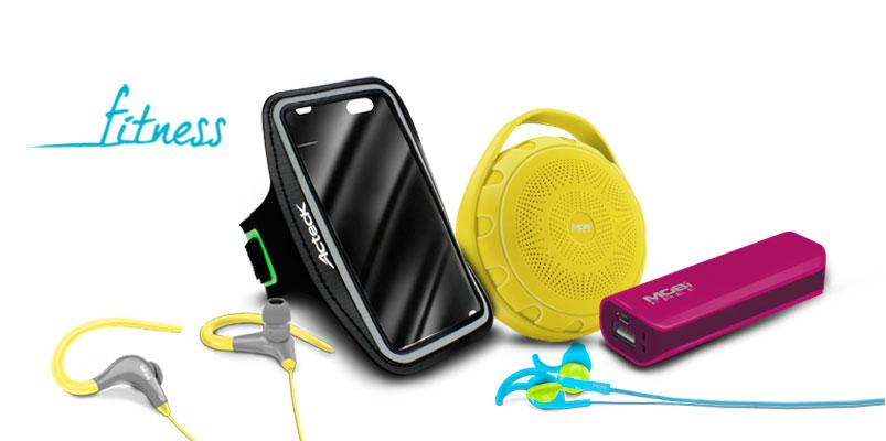 Mobi Free y sus accesorios para correr o ejercitarte