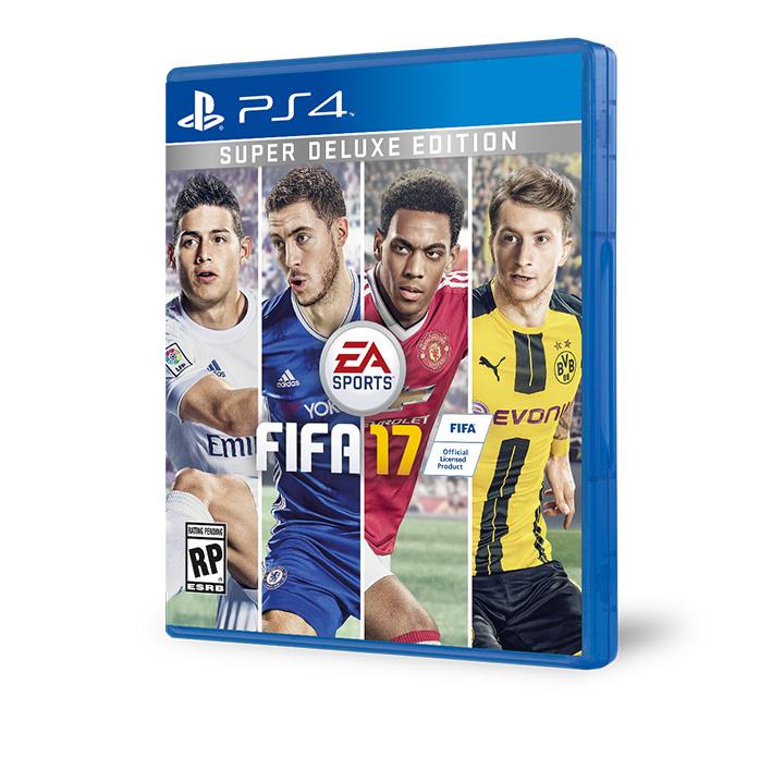 PS4 SuperDeluxe FIFA 17 frostbite