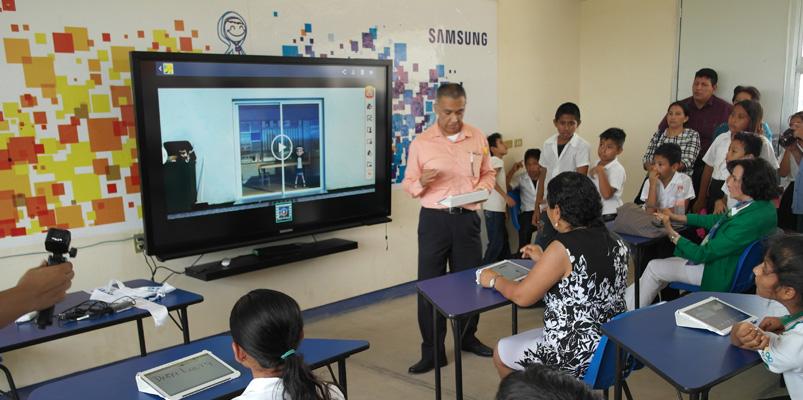 Samsung Smart School llega a Chiapas