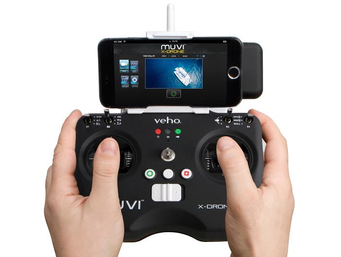 Veho MUVI X-Drone control