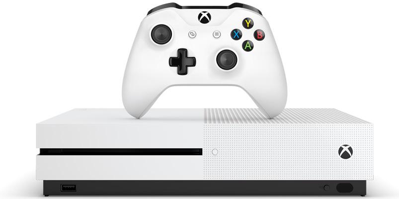 Microsoft presentó su nueva Xbox One S con 4K #E32016