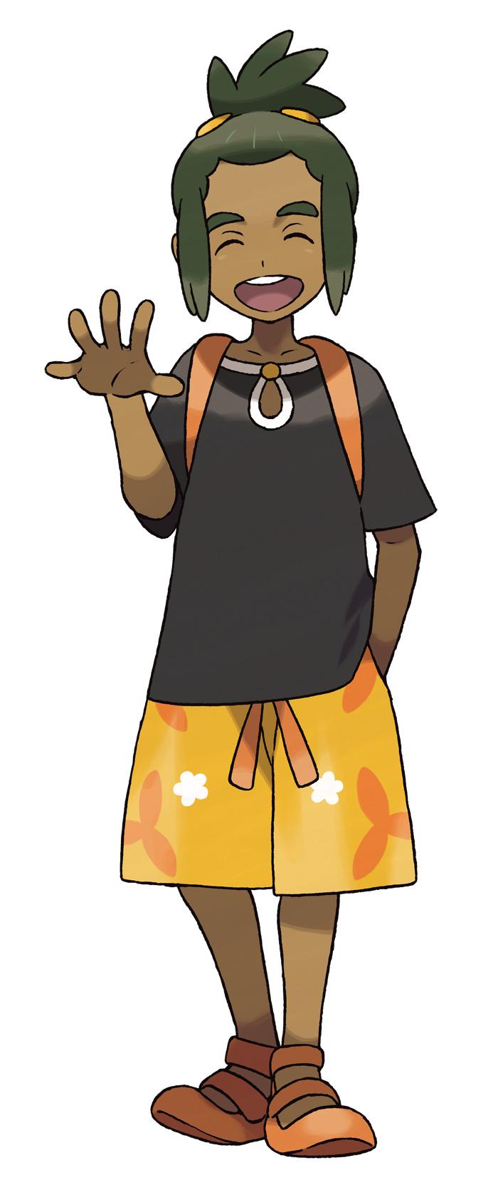 hau Personajes Pokemon