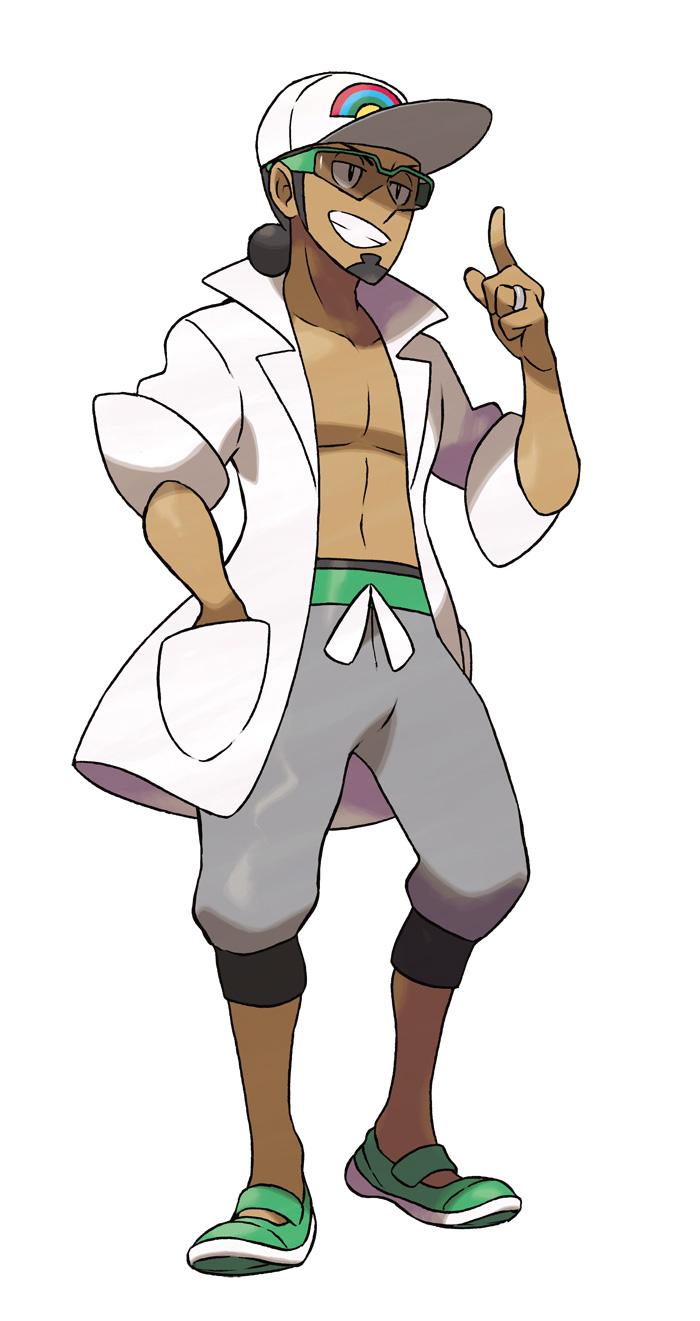 kukui Personajes Pokemon