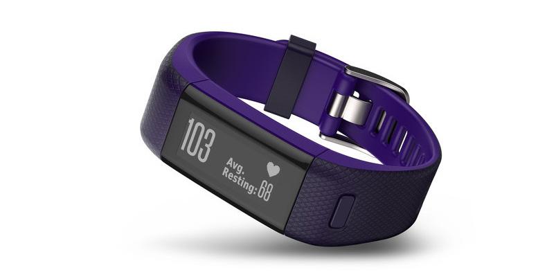 vívosmart HR+ es la nueva pulsera de Garmin