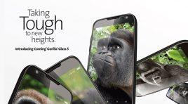 Corning Gorilla Glass 5 es resiste a más caídas