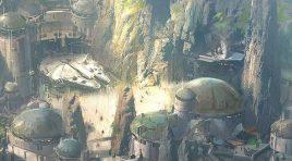 Disney muestra imagen conceptual de Star Wars Land