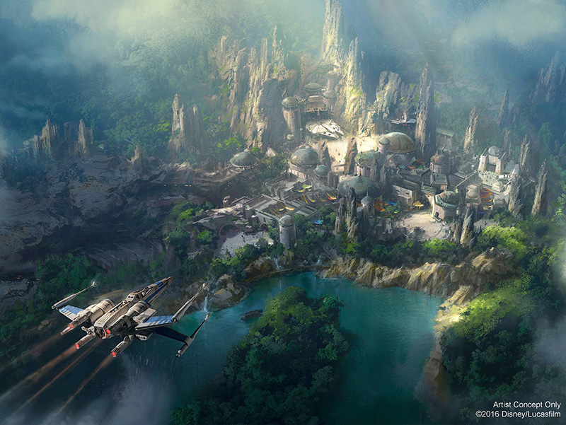 Disney Star Wars Land Concepto