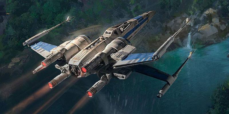 Disney Star Wars Land X-Wing