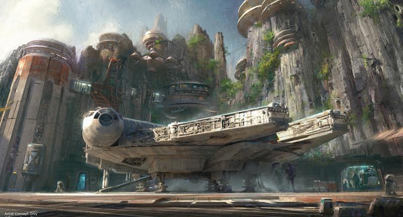 Disney Star Wars Land alcon