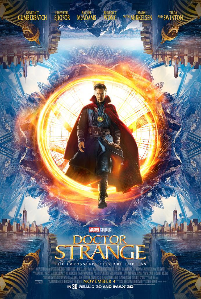Doctor Strange SDCC poster