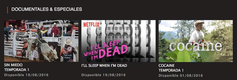 Documentales Netflix agosto 2016