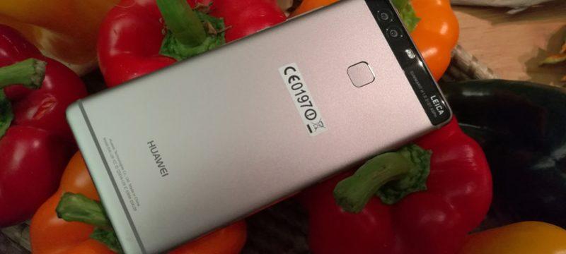 Huawei P9 Mexico camaras