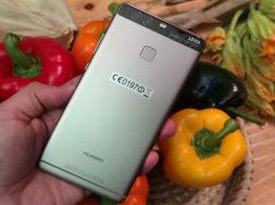 Huawei P9 Plus Mexico camaras