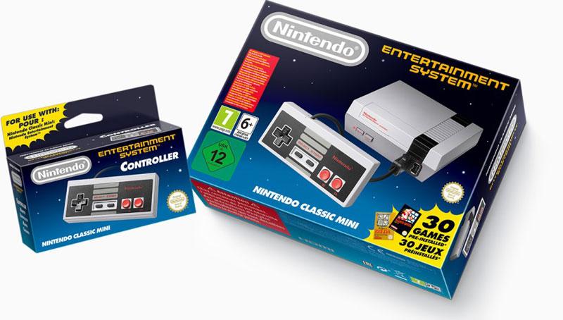 Nintendo Classic Mini NES Europa