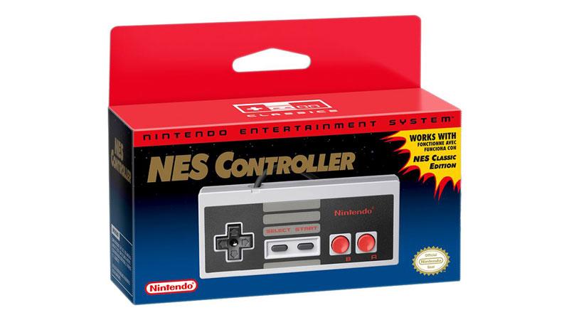 Nintendo Classic Mini NES control