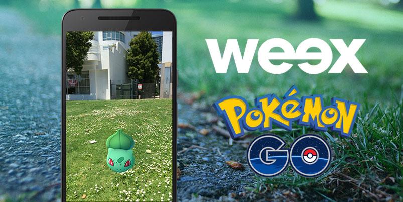 weex te da datos ilimitados para jugar con Pokémon GO