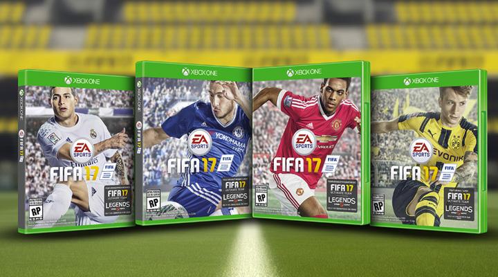 Portada FIFA 17 vota