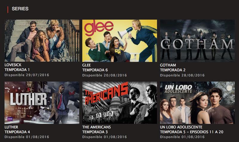Series Netflix agosto 2016