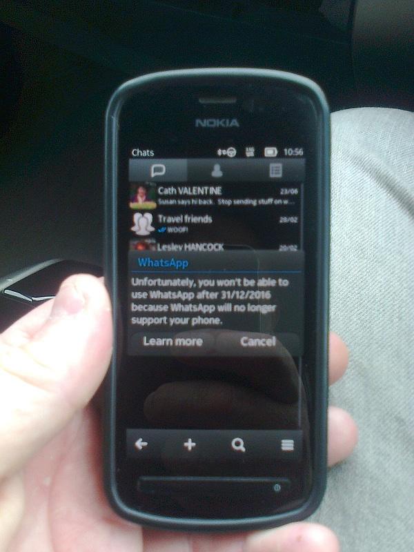 Symbian sin Whatsapp