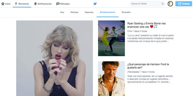 Twitter presenta Momentos para México