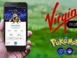 Virgin Mobile paquetes Pokemon Go