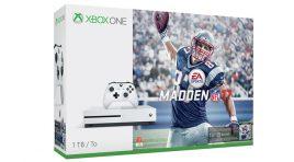 Xbox One S ediciones Halo Collection y Madden NFL 17
