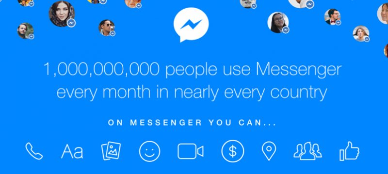 1000 millones messenger
