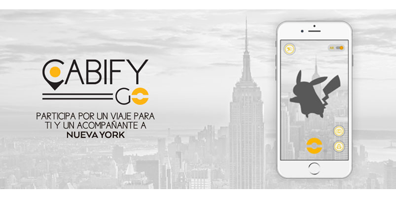 Cabify GO, la nueva forma de capturar criaturas en Pokémon GO