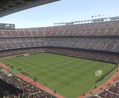 Camp Nou demo de PES 2017